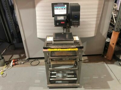 Wedderburn DPS-4600M Prepack Scale Wrapping Labelling Station #3
