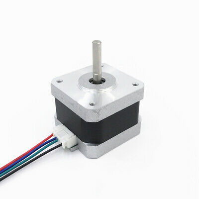 NEMA 17 Stepper Motor 12V 0.4A for CNC Reprap 3D Printer Extruder 42×42×34mm