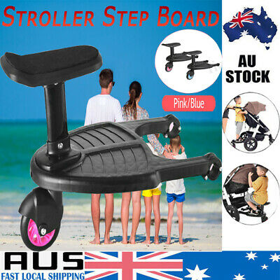 NEW Stroller Step Board Toddler Buggy Wheel Board Skateboard for Prams Joggers