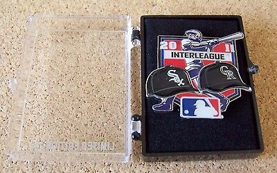 2011 Chicago White Sox vs Colorado Rockies Interleague pin limited & numbered