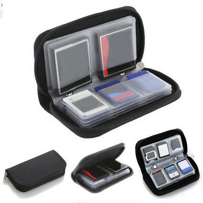 HC MMC CF For  Memory Card Storage Carrying bag Pouch Case Holder Hot