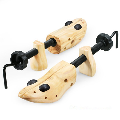 Two Way Professional Wooden Shoes Stretcher for Men or Women One Pair Size 9-13