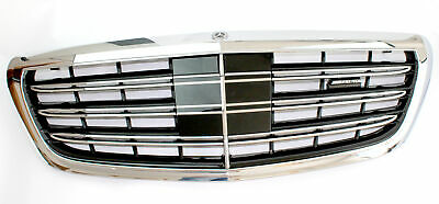 Mercedes-benz Radiator Grille S-CLASS W222 S63 S65 AMG Complete