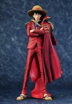 One Piece Luffy PVC Action Figure Red Cloak The Ultimate King Luffy Model