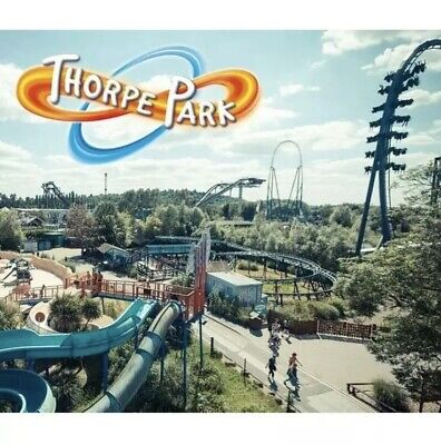 Thorpe Park Tickets - Saturday 24Th August 2019