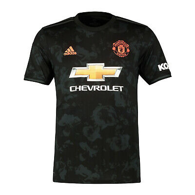 Manchester United FC Official Football Gift Mens Third Kit Shirt 2019/20