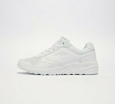Mens Umbro Runner White Trainers RRP £49.99