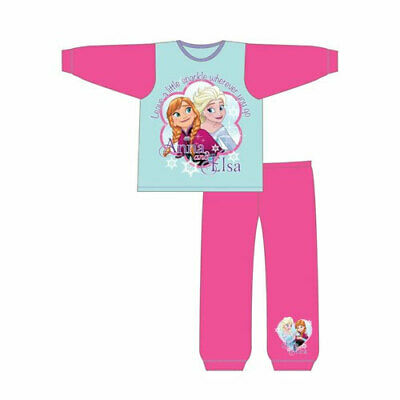 Official Girls Toddler Disney Frozen Snuggle Fit Pyjama