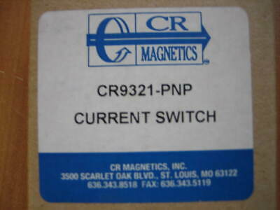 CR Magnetics Current Switch CR9321-PNP - FREE US SHIP