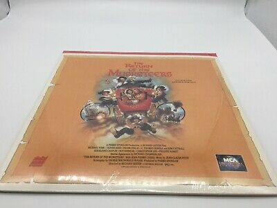 """The Return of the Musketeers"" Extended Play Laserdisc LD - Brand New Sealed"
