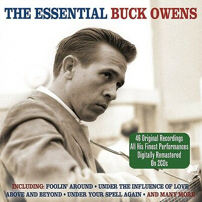 Buck Owens - The Essential - The Best Of / Greatest Hits 2CD NEW/SEALED