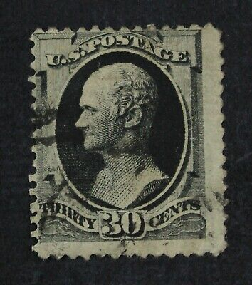 CKStamps: US Stamps Collection Scott#190 30c Hamilton Used Thin CV$90