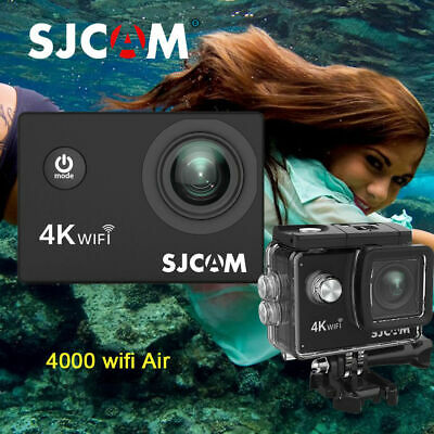 100% Original SJCAM SJ4000 WiFi 2.0''AIR HD 1080P Sport Action Camera Waterproof