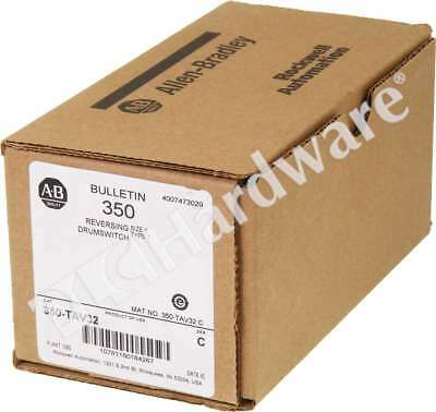 New Allen Bradley 350-TAV32 Series C Reversing Drum Switch 3 Position Qty