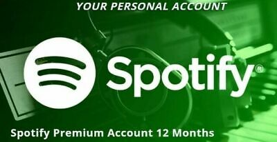 Spotify Premium Account 12 Months [Private] Worldwide Fast Delivery – Warranty