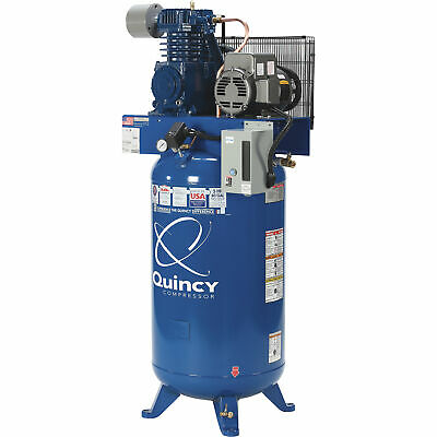 QUINCY QT-54 5-HP 60-Gallon Two-Stage Air Compressor (230V 1