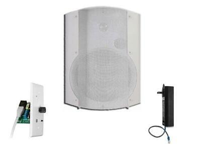 OWI AMP-CAT602-1W-1BTVC One Amplified Speaker/Bluetooth Volume Control/White