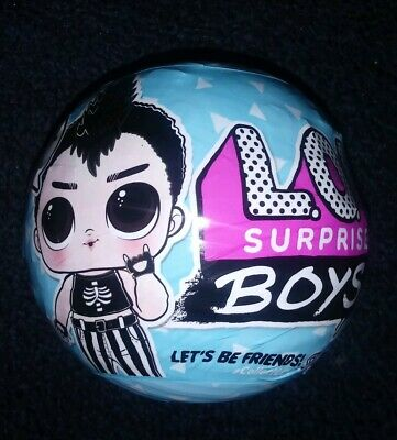 LOL SURPRISE BOYS Doll SERIES BALL BRAND NEW IN HAND RTS 1 BOY COLLECTIBLE DOLL