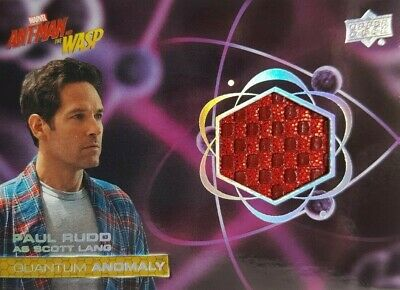 2018  Ant-Man and the Wasp Quantum Anomaly Relic Card QM18 Scott Lang PAUL RUDD