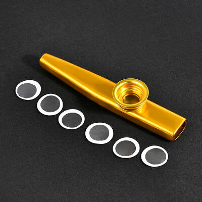 Durable and Metal Kazoo Harmonica Mouth Flute Kid Party Gift Musical Instrumen