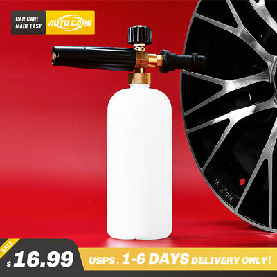 1L Snow Foam Lance Cannon Soap Sprayer Gun For Pressure Washer Karcher K2-K7