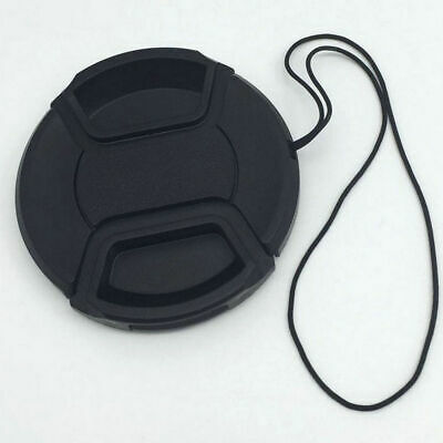 49MM Snap-On Front Lens Caps Cover for Canon Nikon SLR DSLR Cameras Photo Parts