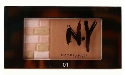 MAYBELLINE 7g BRICKS BRONZER FACE STUDIO 01 BLONDES - NEW
