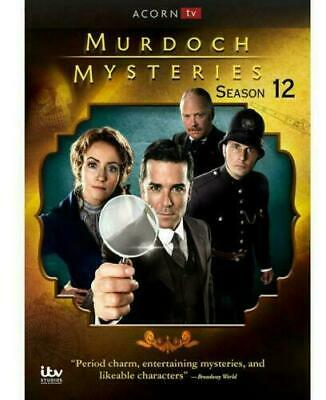 Murdoch Mysteries: Season 12 (DVD, 2019,5-Disc Set) New Sealed For US
