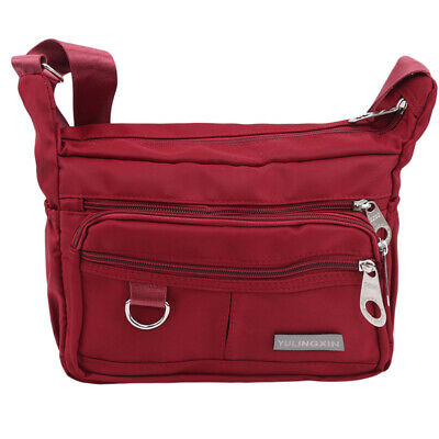 Women Shoulder Bag Mummy Nylon Baby Casual Tote Travel Messenger Bags Pouch CZ