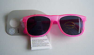 Baby Girls Fashion Sunglasses Pink Shades Holiday UV400 Protection Age 9-24m