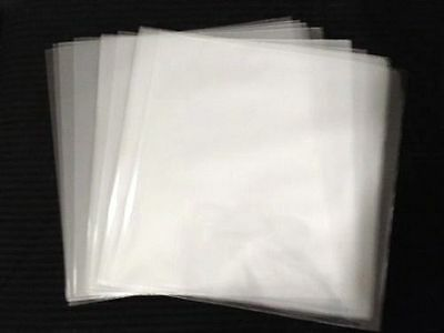 """200 Clear Plastic 45 RPM Outer Sleeves 3 Mil QUALITY 7"""" Vinyl Record Covers"""