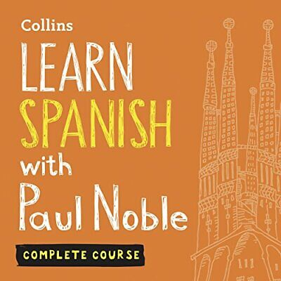 Learn Spanish with Paul Noble: Complete Course (Audiobook MP3)