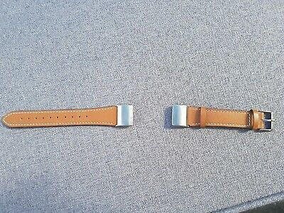 Fitbit Charge 2 Genuine Leather Replacement Bands, Classic Wristband Strap Bands