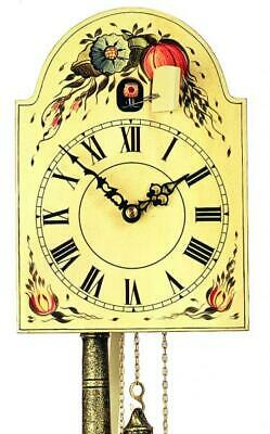 Hand-painted shield cuckoo clock with mechanical 1-day-movement, 1270