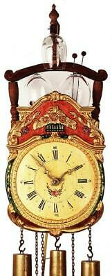 Hand-painted, historic cuckoo clock with mechanical 8-days-movement, 7304G
