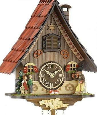 Black Forest fairytale world: Chalet cuckoo clock with quartz movement, 466 Q