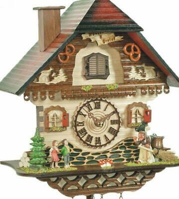 Black Forest fairytale world: Chalet cuckoo clock with quartz movement, 465 Q ..