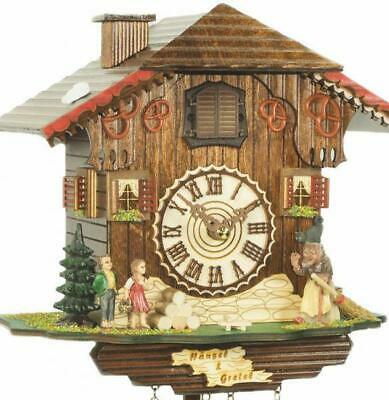 Black Forest fairytale world: Chalet cuckoo clock with quartz movement, 464 Q ..