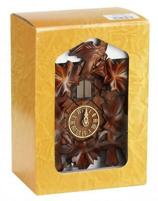 Cuckoo clock carved style with quartz movement and music with carton gift box, .