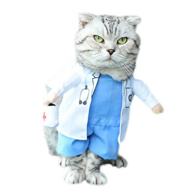 Cosplay Pet Dog Cat Puppy Coat Fancy Dress Xmas Halloween Cute Outfit Costume