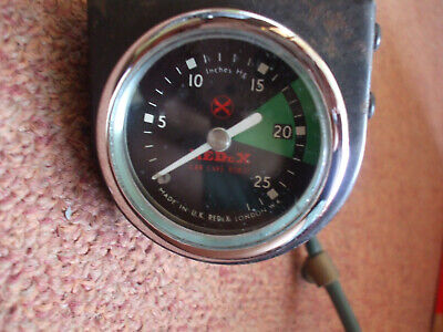 classic car vacuum gauge classic car austin mini ford escort cortina mg