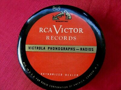 RCA VICTOR VICTROLA RECORD DUSTER BRUSH ~Nipper Dog- Advertising~