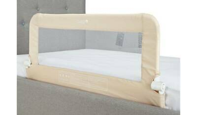 Cuggl Natural Folding Metal Bed Rail Safety Guard Toddlers Adjustable RRP 22.99