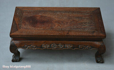 China Huanghuali Wood Hand carved classical Furniture table Desk Table Tea Table