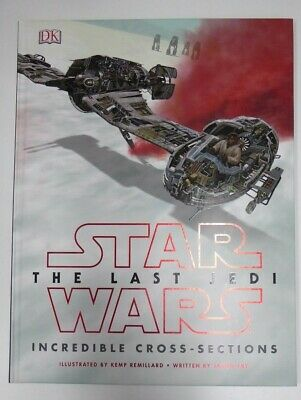 Star Wars The Last Jedi Incredible Cross Sections Book Fold Out Illustrations