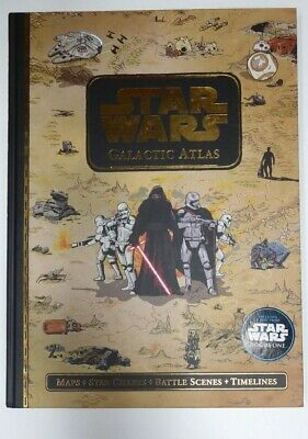 Star Wars Galactica Atlas Rogue One Hardcover Book