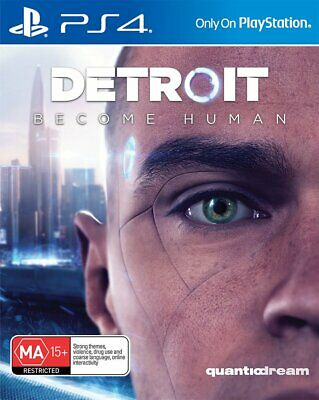 Detroit Become Human - Playstation 4 PS4 Brand New Sealed