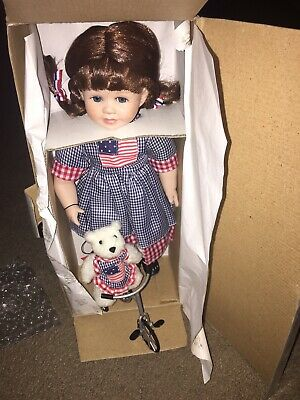 Heritage Signature Collection - Star Spangled Susie Doll And Polly's Tea Party