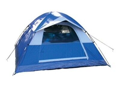 Rugged Exposure Prospector Three Person Dome Tent Camping Hiking Backng