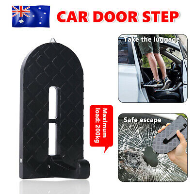 Folding Car Door Step Latch Hook Foot Pedal Doorstep for Jeep SUV Vehicle Roof